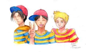 Mother Earthbound Boys by witch-girl-pilar