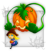Pumpkin escape by Estyy