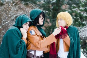 Braced Against the Cold by BleachcakeCosplay