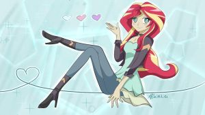 Sunset Shimmer by Shainilia