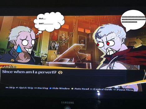 Don't Accuse Akihiko of Being a Perv! by TheAnimeKnight