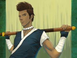 Sword Master Sokka by chrisdog203