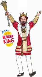The Burger King- Break Time Sketches by jamesgannon