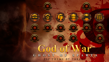 GoW: Ghost of Sparta PSP Theme by takebo