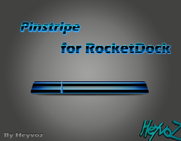 Pinstripe for RocketDock by Heyvoz