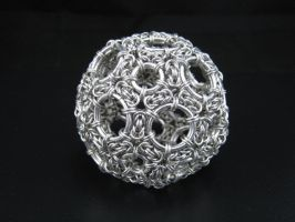 Chainmail Truncated Icosahedron by immortaldesigns