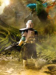 Clone Trooper on felucia by ARKURION