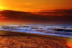 Lakes Entrance Sunrise 01 HDR by Braunaudio