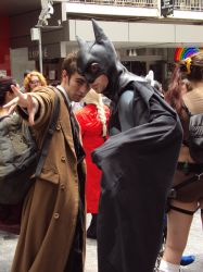 The Doctor and The Batman by blackjack157