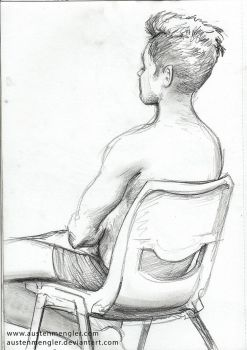 Life Drawing Session #3 - 07 by AustenMengler