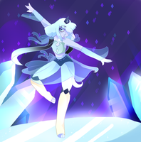 Fusion (black zircon and blue pearl) by Stariaat