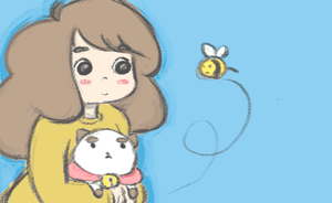 bee and puppycat by umbrellaplane