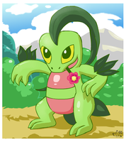 Grovyle can be charming too