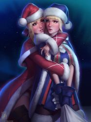 Santa Nero and Alter by TheMaestroNoob