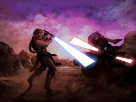 Duel of Fates by weaselpa