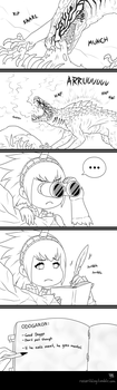 If he eats meat he goes mental by Ra1-x3