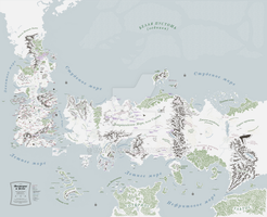 Westeros and Essos map, v.4 by 7Narwen