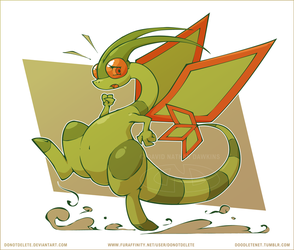 Flygon the Run by DoNotDelete