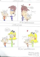 Best Loud Siblings: Lincoln, Leni and Luna by Bart-Toons