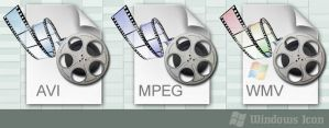 Media Filetypes - Three Pack by ssx