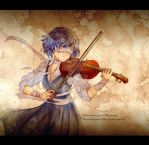 Violinist by Hagitachi