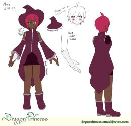 Dragon Princess Miss Issipy Designs by ninjapink