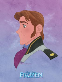 Disney's FROZEN - Prince Hans by David Kawena by davidkawena