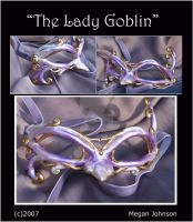 'Lady Goblin Mask' by EMasqueradeGallery