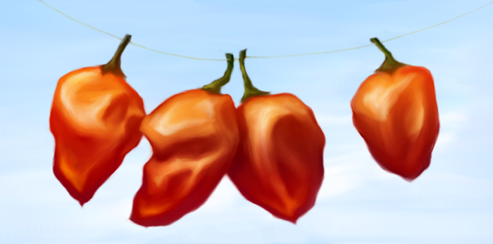 Habaneros by Truthuhn
