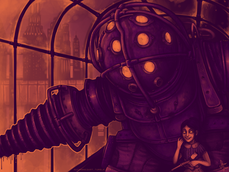 Bioshock: Mr. Bubbles by Becken95