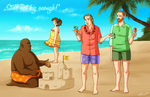 Saul Goodman and Associates on Vacation by NessaSan