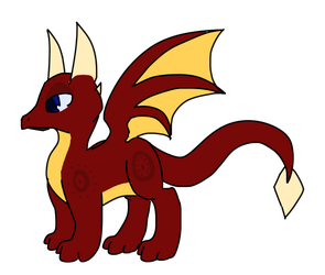 Eclipse The Dragon Adoptable by MinoesTheKitty