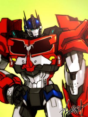 Optimus x Male!Reader by assainwolf9 on DeviantArt