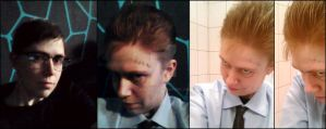 MakeUp Tests - E.Nygma and J.Valeska [Gotham] by 2D-Dipper
