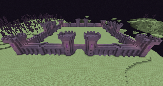 End Fortress WIP by 3xc4l1bur