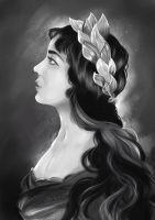 Laurel wreath by Mellodee