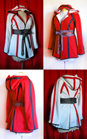 Assassin's Creed-Style Hoodie by guptillc
