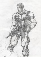 The Punisher by MannixFrancisco