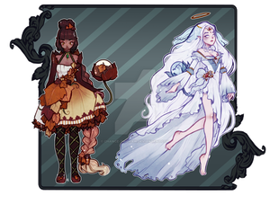 [auction] October Fysaera Adopts 3 [closed] by Chance-To-Draw