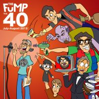 The FuMP Volume 40 CD album cover by artbylukeski