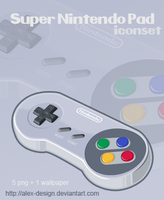 Super Nintendo Pad Iconset by alex-design