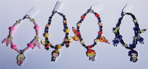Blue Exorcist Bracelets 2 by jordannamorgan