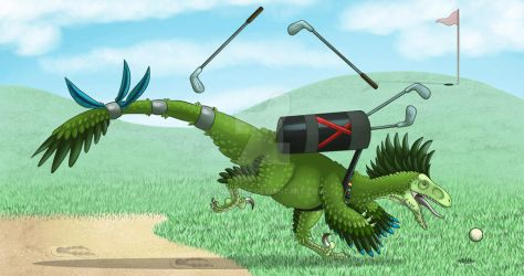 How to golf by AltairSky