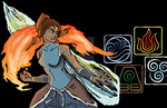 Legend of Korra Badge Art