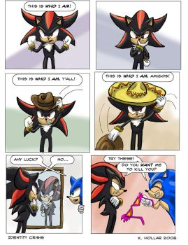 Identity Crisis - comic by NetRaptor