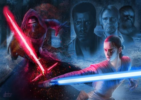 The Force Awakens by UTTOTOR