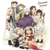 Octopath Travelers by peo9411