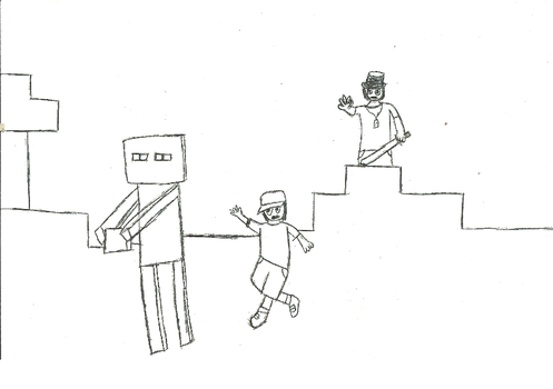 Endermen will be mad by PsiKid