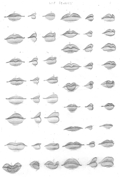 Lips by chibiki