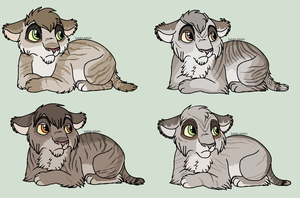 Cubs for KichekoTLK #4 by Sukida-Adopts